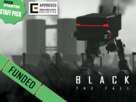 Black The Fall funded on KickStarter